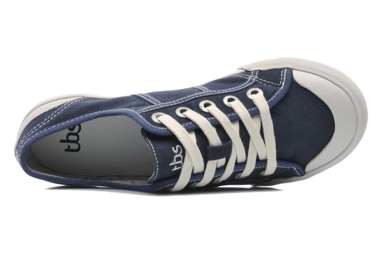 Sneakers TBS Opiace Azzurro immagine sinistra