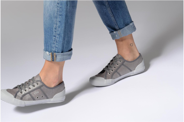 Sneaker TBS Opiace mehrfarbig ansicht von unten / tasche getragen