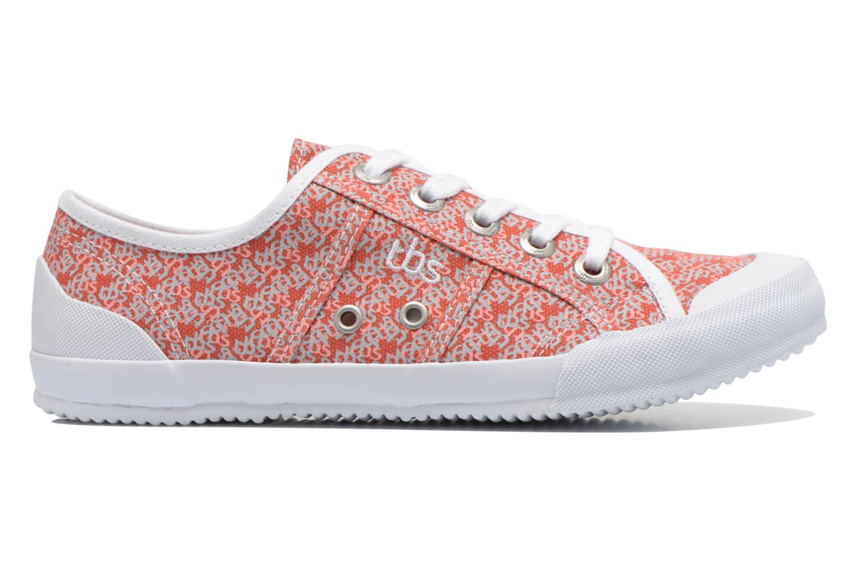 Sneaker TBS Opiace mehrfarbig ansicht von hinten