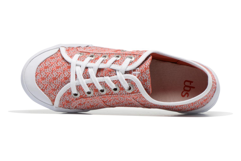 Sneaker TBS Opiace mehrfarbig ansicht von links