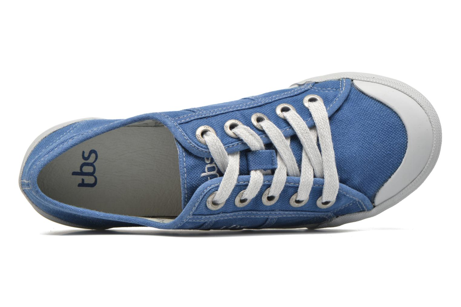 Sneakers TBS Opiace Blauw links
