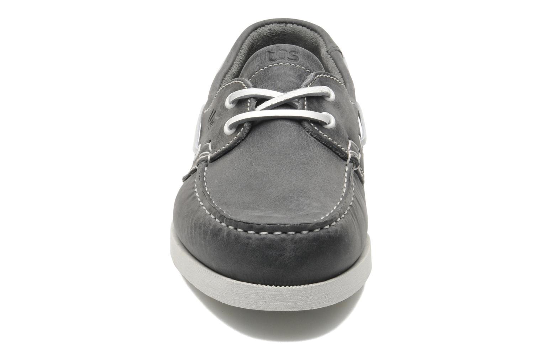 Schnürschuhe TBS Phenis grau schuhe getragen