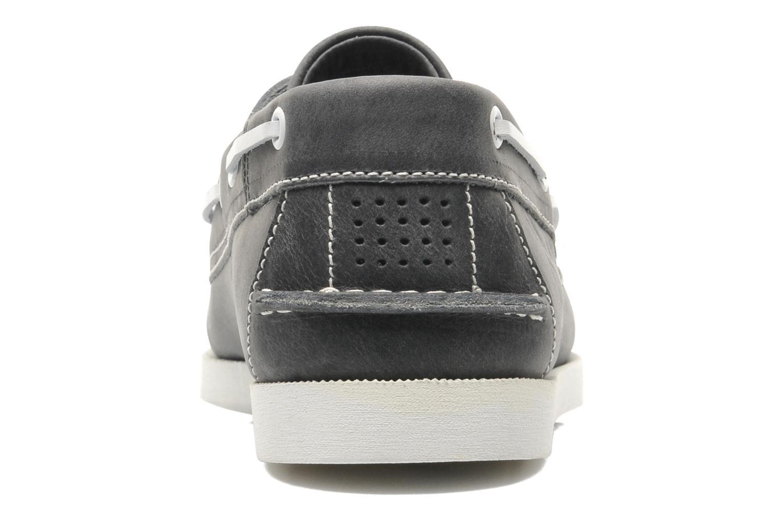 Zapatos con cordones TBS Phenis Gris vista lateral derecha