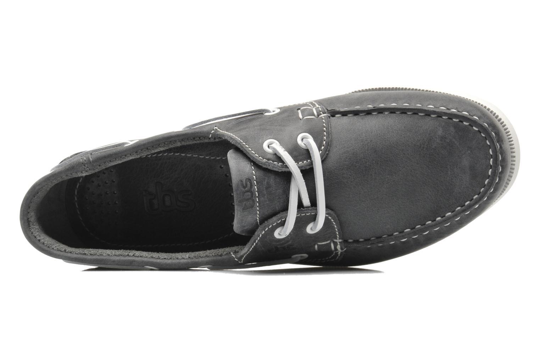 Zapatos con cordones TBS Phenis Gris vista lateral izquierda
