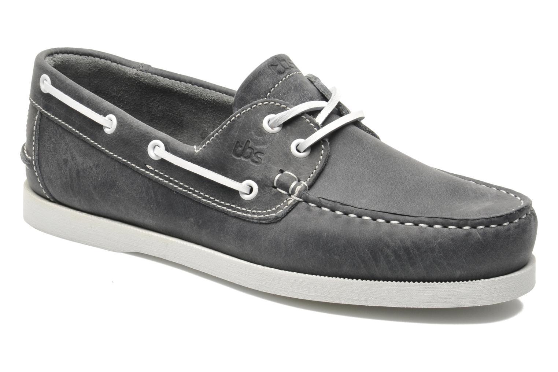 Zapatos con cordones TBS Phenis Gris vista de detalle / par