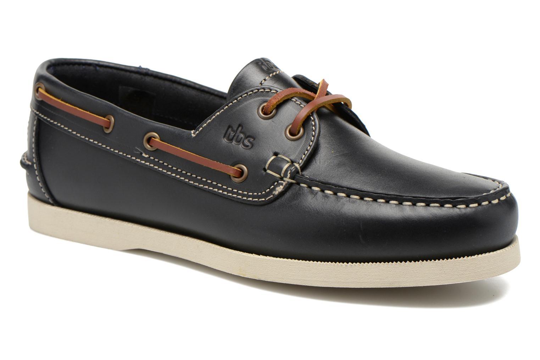 Chaussures à lacets TBS Phenis Bleu vue détail/paire