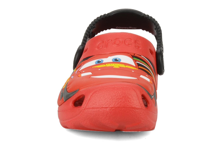 Sandalen Crocs Cars 2 Custom Clog rot schuhe getragen