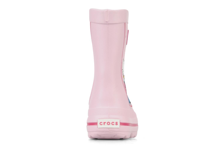 Stiefel Crocs Jaunt hello kitty rosa ansicht von rechts