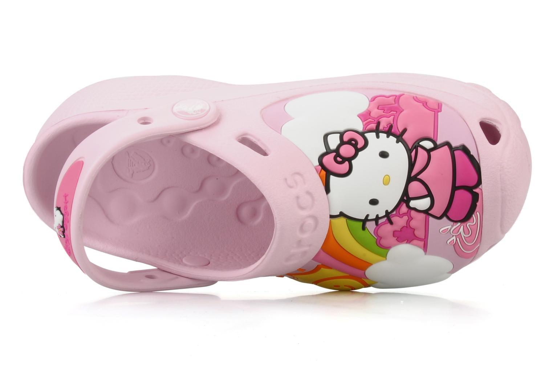 Sandalen Crocs Hello Kitty Fun Rain Or Sun rosa ansicht von links