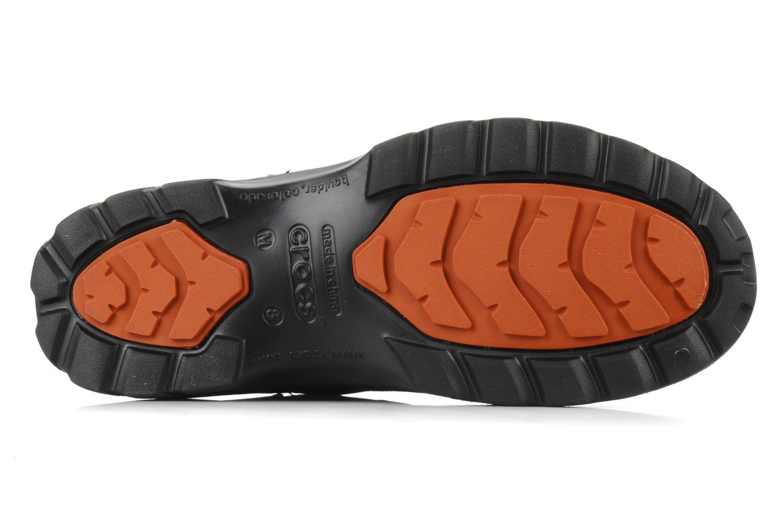 Stiefeletten & Boots Crocs Greeley schwarz ansicht von oben