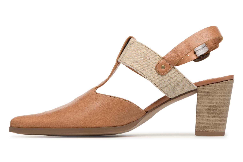 High heels Karston Kzam Brown front view