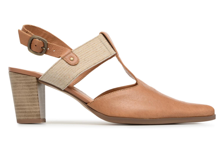 High heels Karston Kzam Brown back view