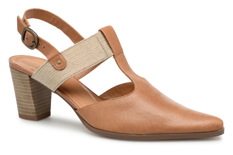 High heels Karston Kzam Brown detailed view/ Pair view