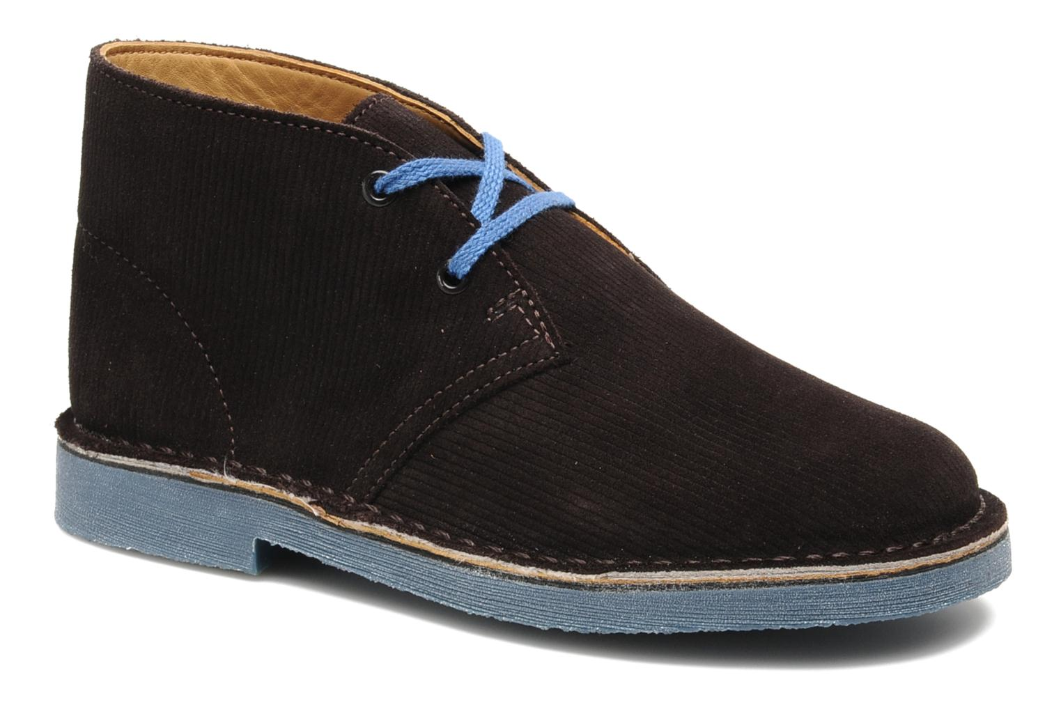 Desert Boot Junior Brown Combi Leather