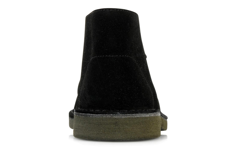 Desert Boot Junior Black Suede