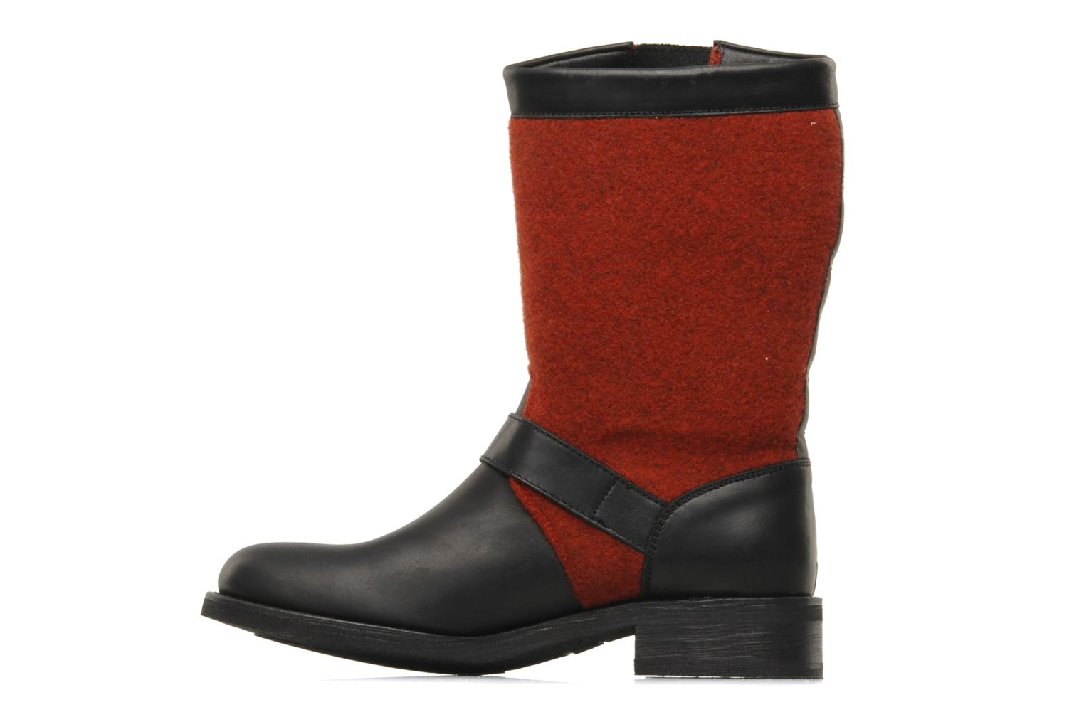 Ankle boots Sancho Boots Yogi Red front view