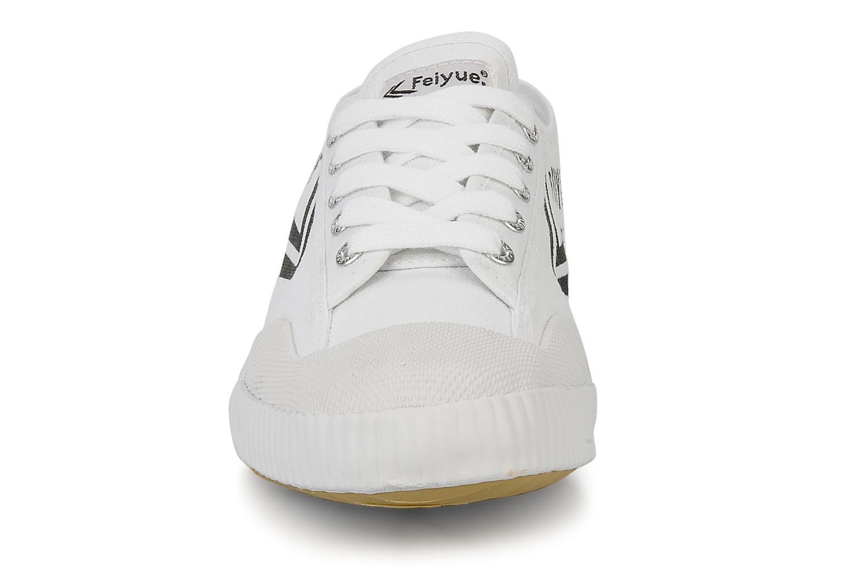 Baskets Feiyue Fe lo vintage m Blanc vue portées chaussures