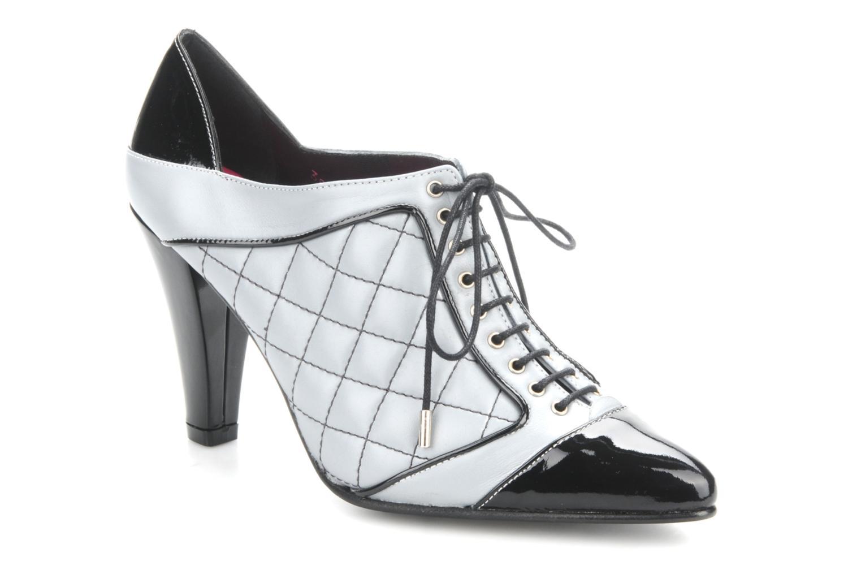 Chaussures à lacets Charlotte Vanel Casino Gris vue détail/paire