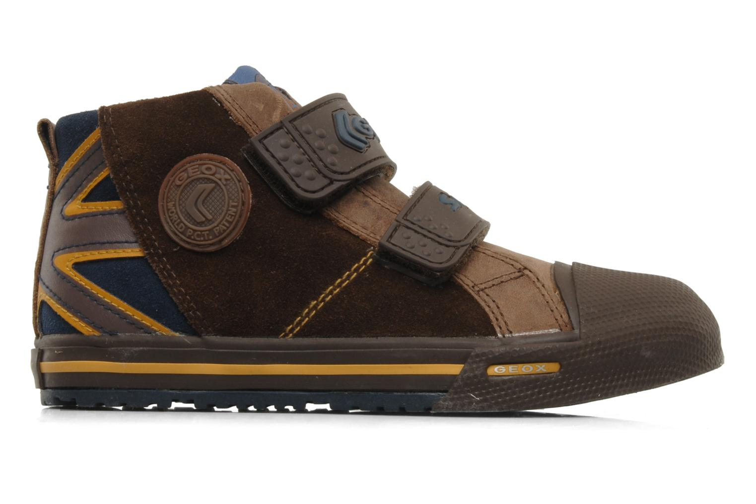 Trainers Geox J ball b Brown back view