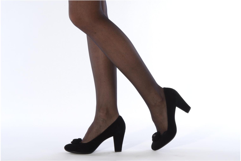 Zapatos de tacón Geox D marian j Negro vista de abajo