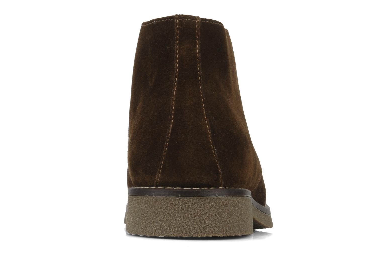 Bottines et boots Geox U claudio b Noir vue droite