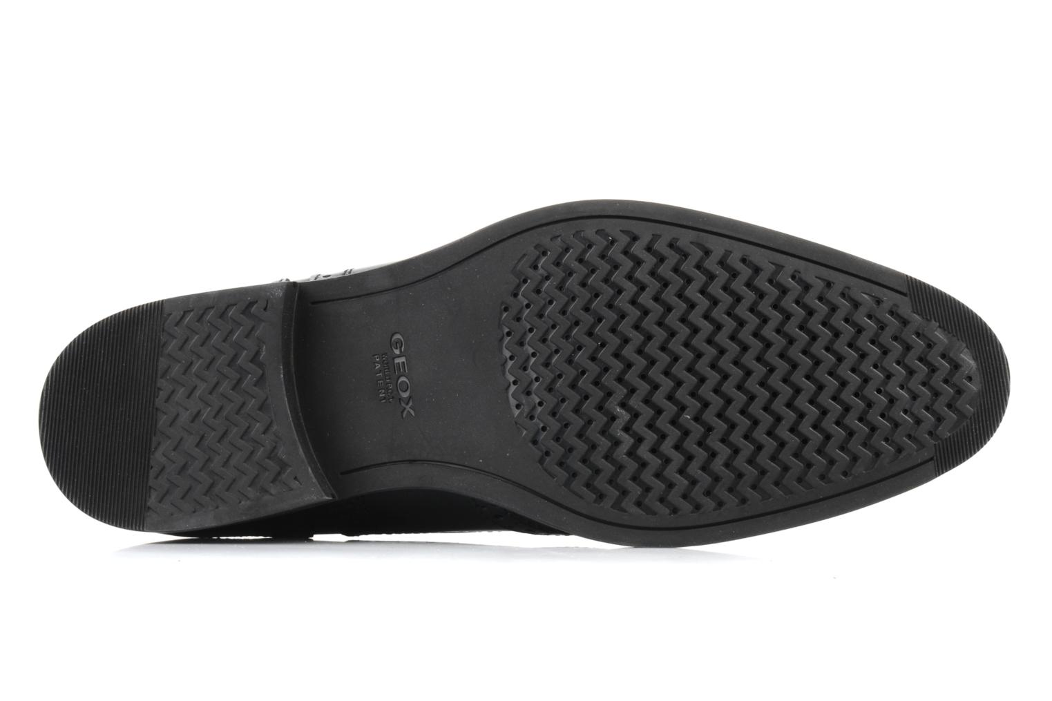 Lace-up shoes Geox U brooklyn k Black view from above