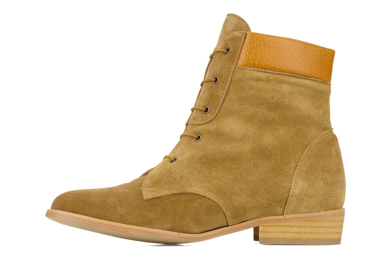 Bottines et boots Le Mont St Michel Lakewood Marron vue face