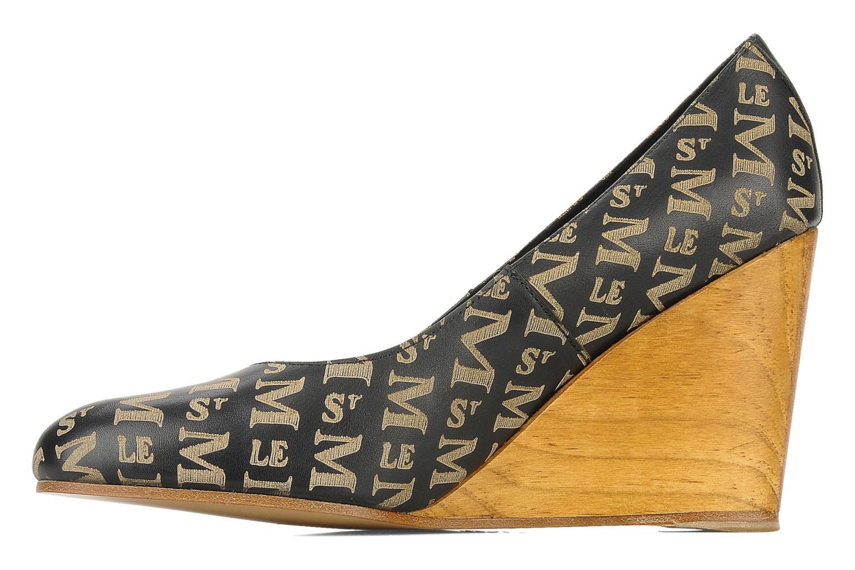 Zapatos de tacón Le Mont St Michel Ponoma Negro vista de frente