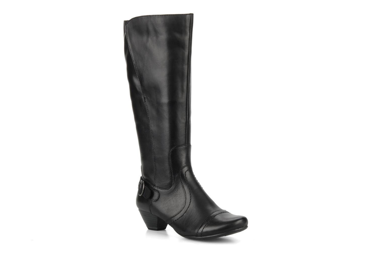 Betna Black leather