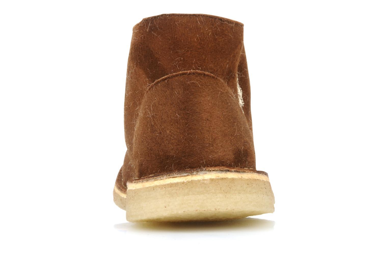 Chaussures à lacets U.S Polo Assn. Aileen Marron vue droite