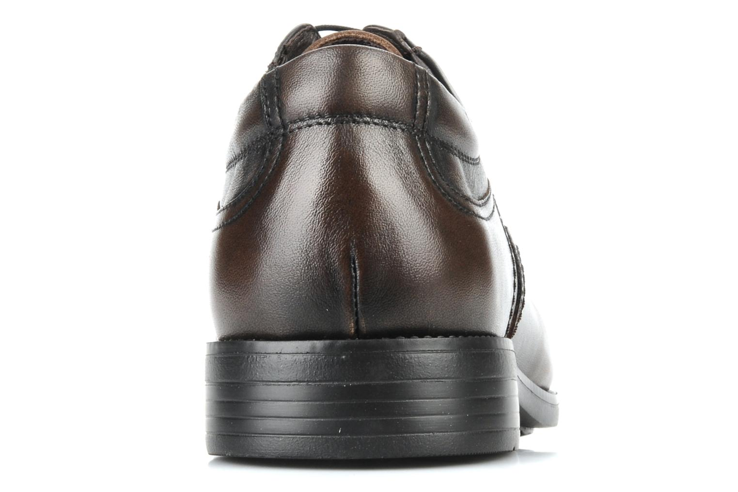 Lace-up shoes Fluchos Rafael 7749 Brown view from the right