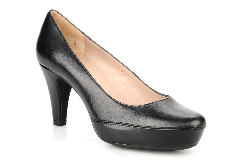 High heels Unisa Numar Black detailed view/ Pair view