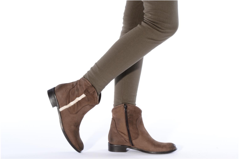 Stivaletti e tronchetti Tosca Blu Shoes Cefalu Marrone immagine dal basso