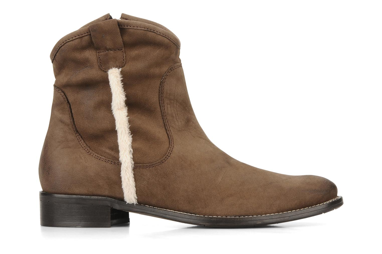 Stivaletti e tronchetti Tosca Blu Shoes Cefalu Marrone immagine posteriore