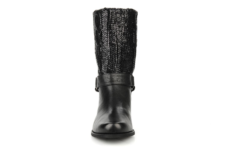 Bottines et boots Stuart Weitzman Pimlico Noir vue portées chaussures