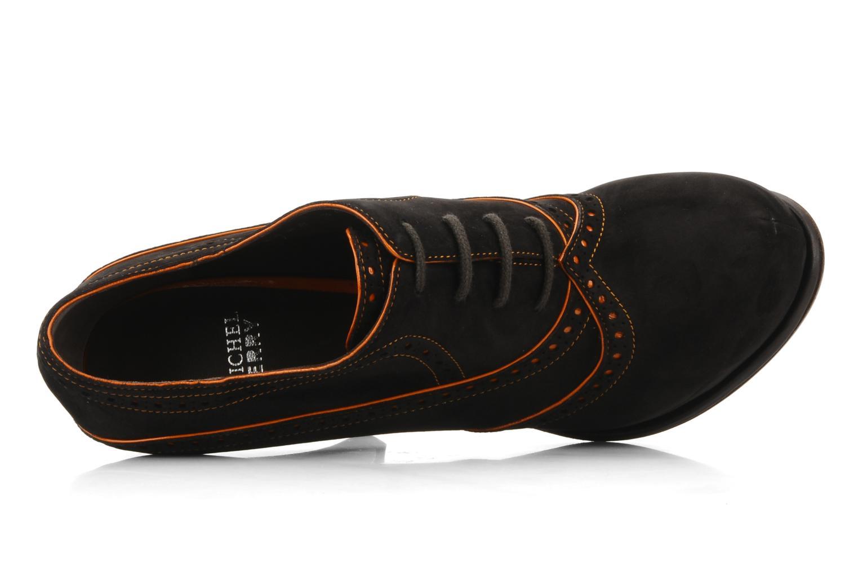 Chaussures à lacets Michel Perry Kavala Marron vue gauche