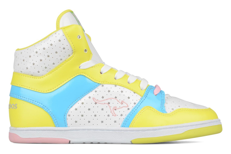 Sneaker Kangaroos Giselle gelb ansicht von hinten