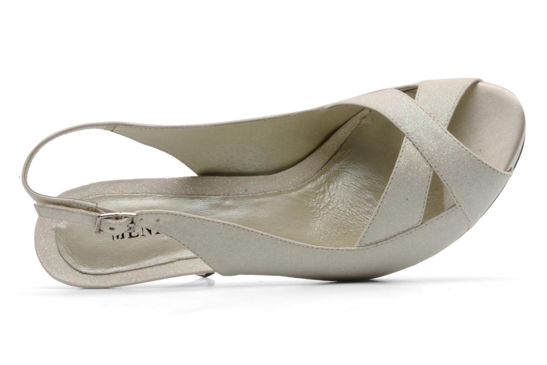 Sandales et nu-pieds Menbur Cindella Blanc vue gauche