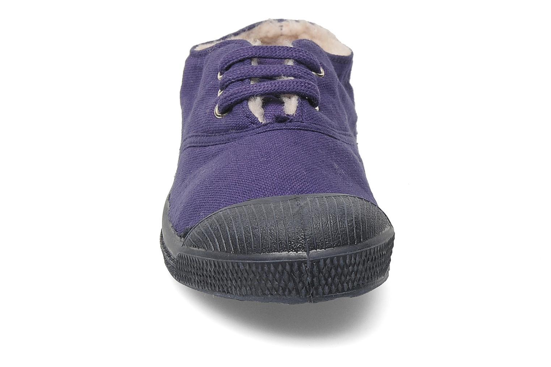 Sneakers Bensimon Tennis Fourrees E Lila bild av skorna på