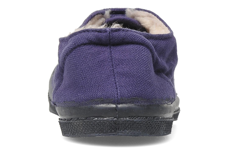 Sneakers Bensimon Tennis Fourrees E Viola immagine destra