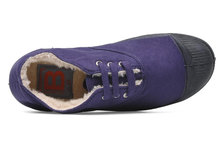 Sneakers Bensimon Tennis Fourrees E Viola immagine sinistra