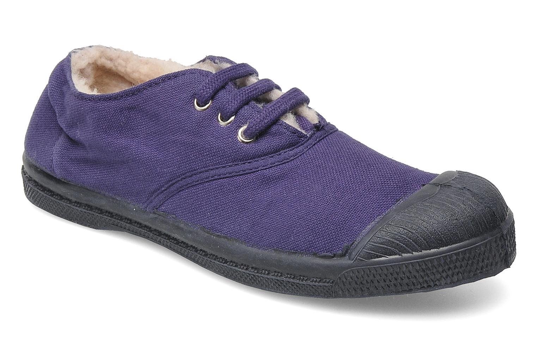 Sneakers Bensimon Tennis Fourrees E Paars detail
