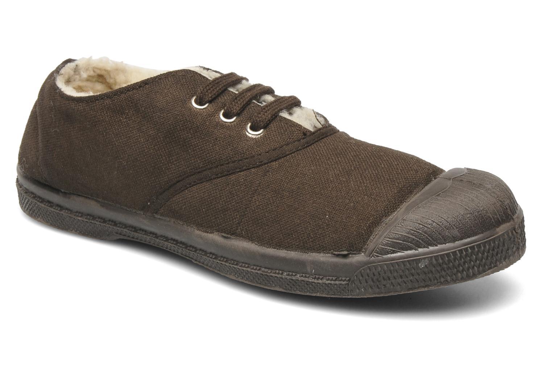 Sneakers Bensimon Tennis Fourrees E Bruin detail