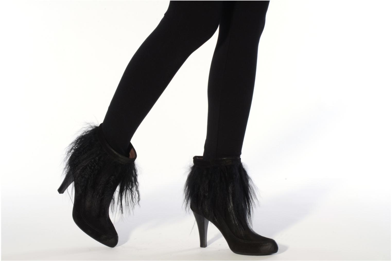 Bottines et boots Janet & Janet Preziosa Noir vue bas / vue portée sac