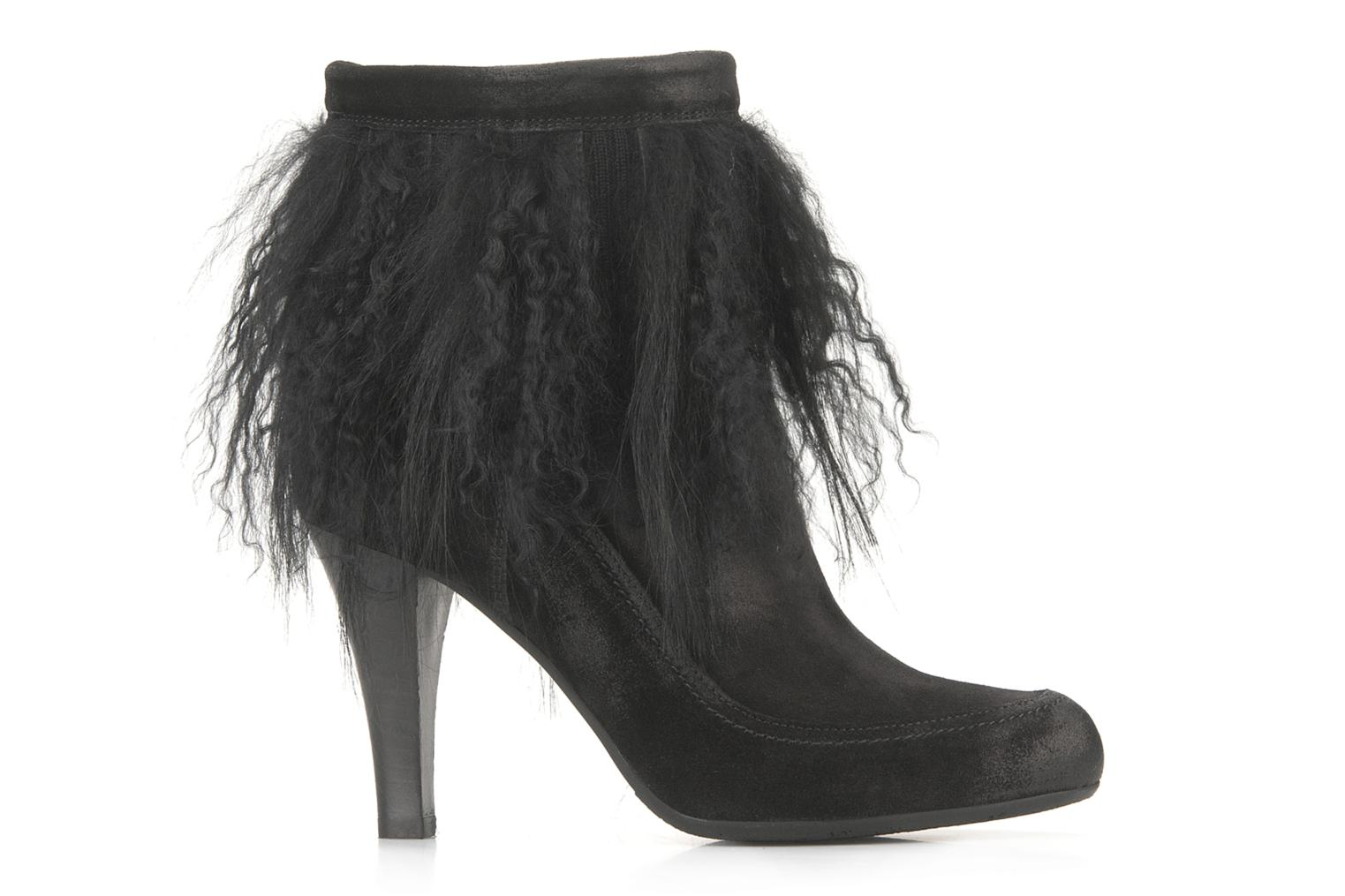Ankle boots Janet & Janet Preziosa Black back view