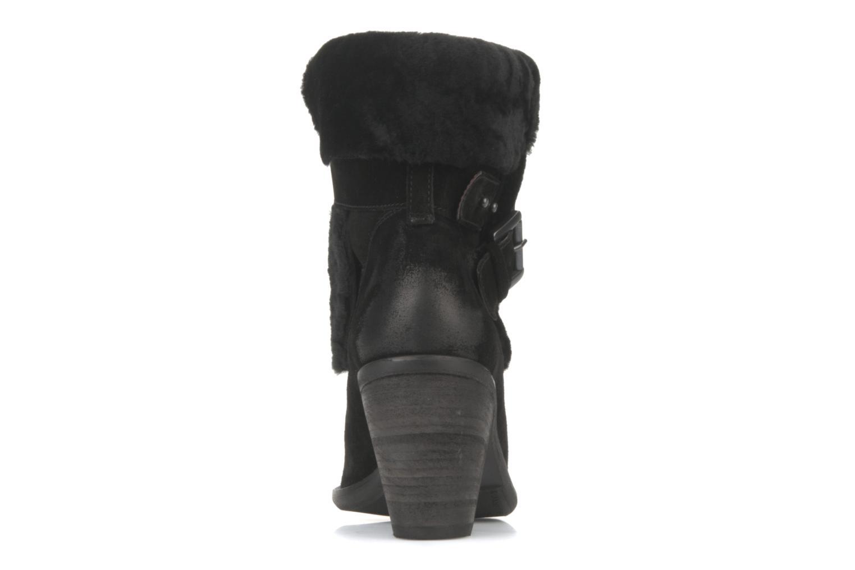 Bottines et boots Janet & Janet Comodo Noir vue droite