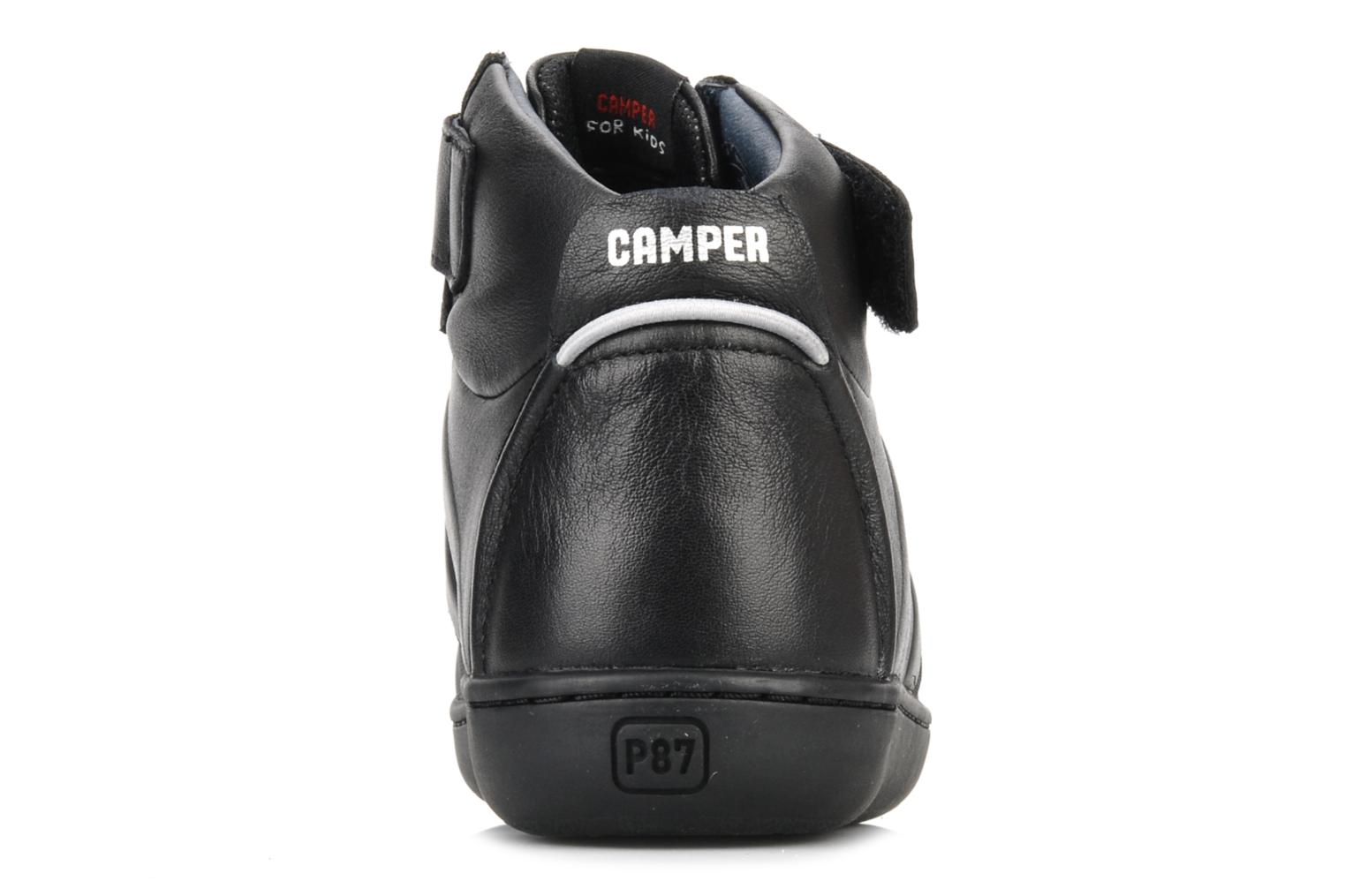 Ankle boots Camper Klick kids 90144 Black view from the right