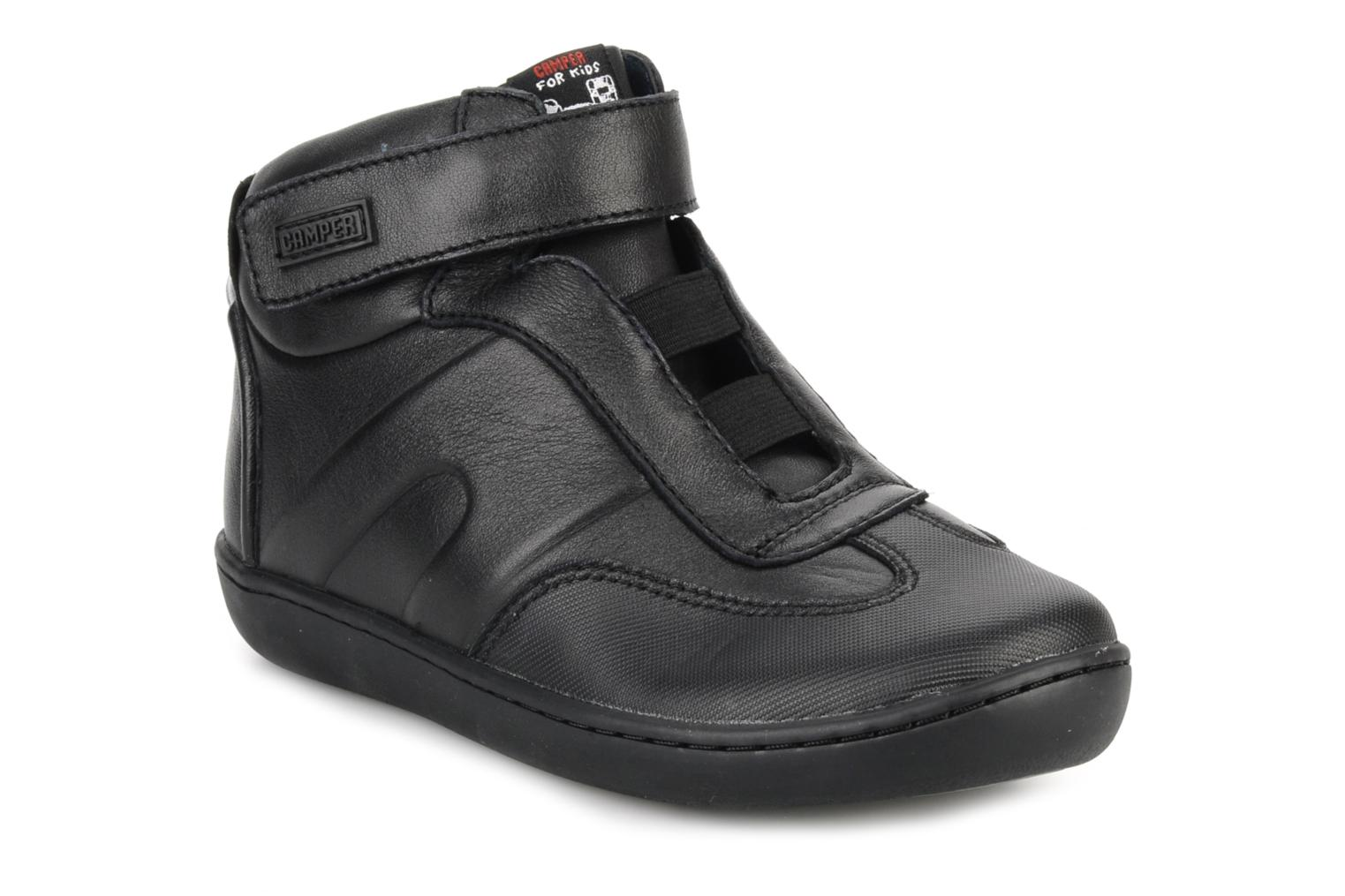 Ankle boots Camper Klick kids 90144 Black detailed view/ Pair view