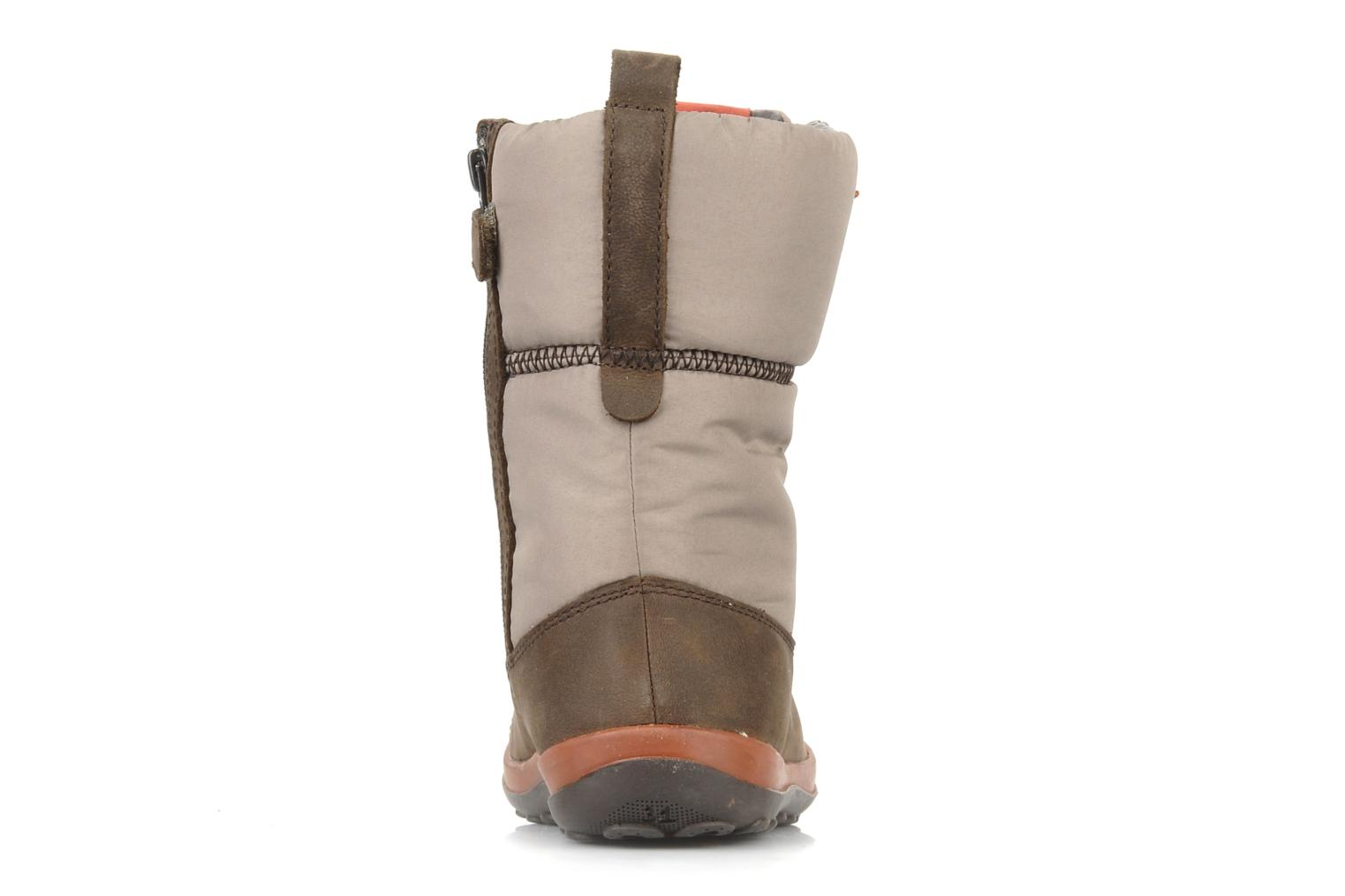 Boots & wellies Camper Peu pista 90150 Beige view from the right