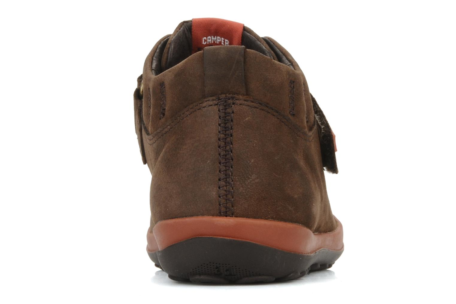 Trainers Camper Peu pista 90151 Brown view from the right
